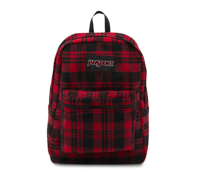 Red Wool Flannel