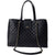 Womens 15.6 in Laptop Tote Handbag Premium Top Handle Satchel Quilted Bag