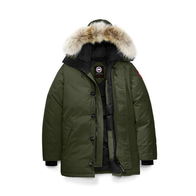 canada goose chateau military green