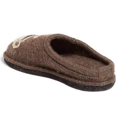 Haflinger Coffee Sup & Beans Bag Slippers - Unisex