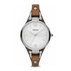 Georgia Brown Leather Watch - Women's