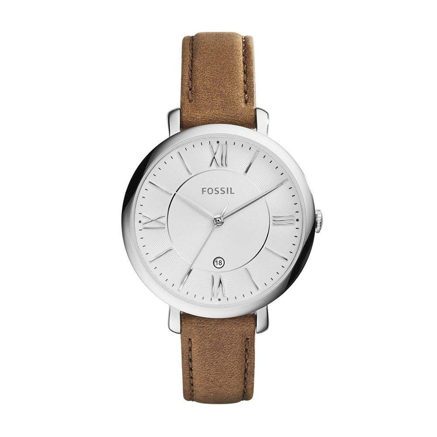 Jacqueline Brown Leather Watch - Women's