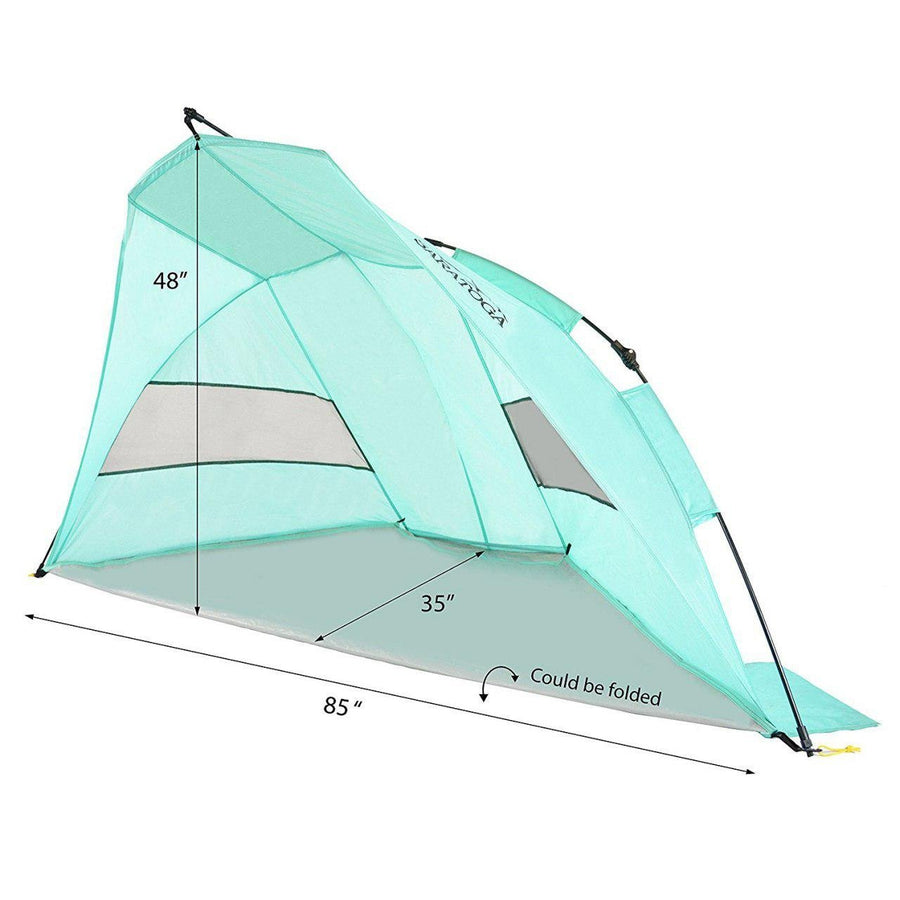 SARATOGA OUTDOOR INSTANT AUTOMATIC POP UP BEACH TENT - MEDIUM
