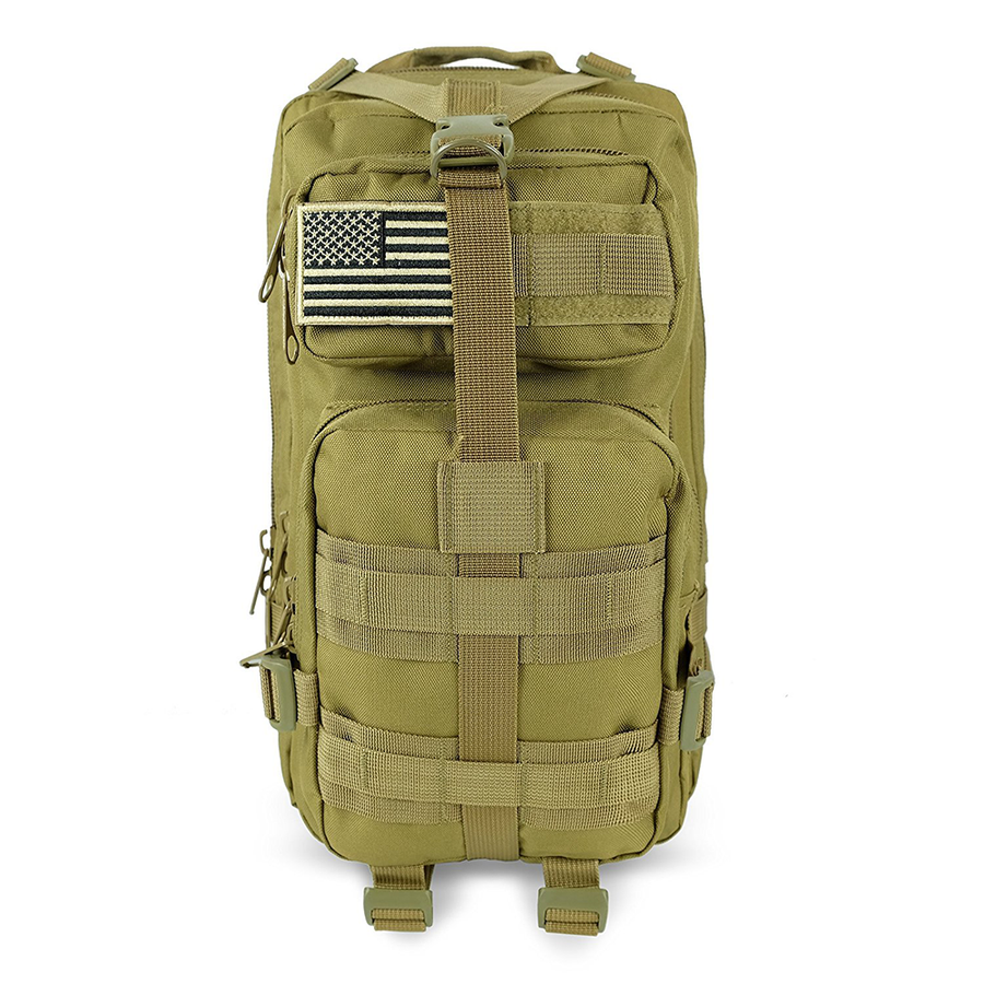 Saratoga Outdoor Equipment   Apparel Company Tactical Ops Military Tactical  Backpack Army Combat 3 Day Assault ... 22e5b5c988