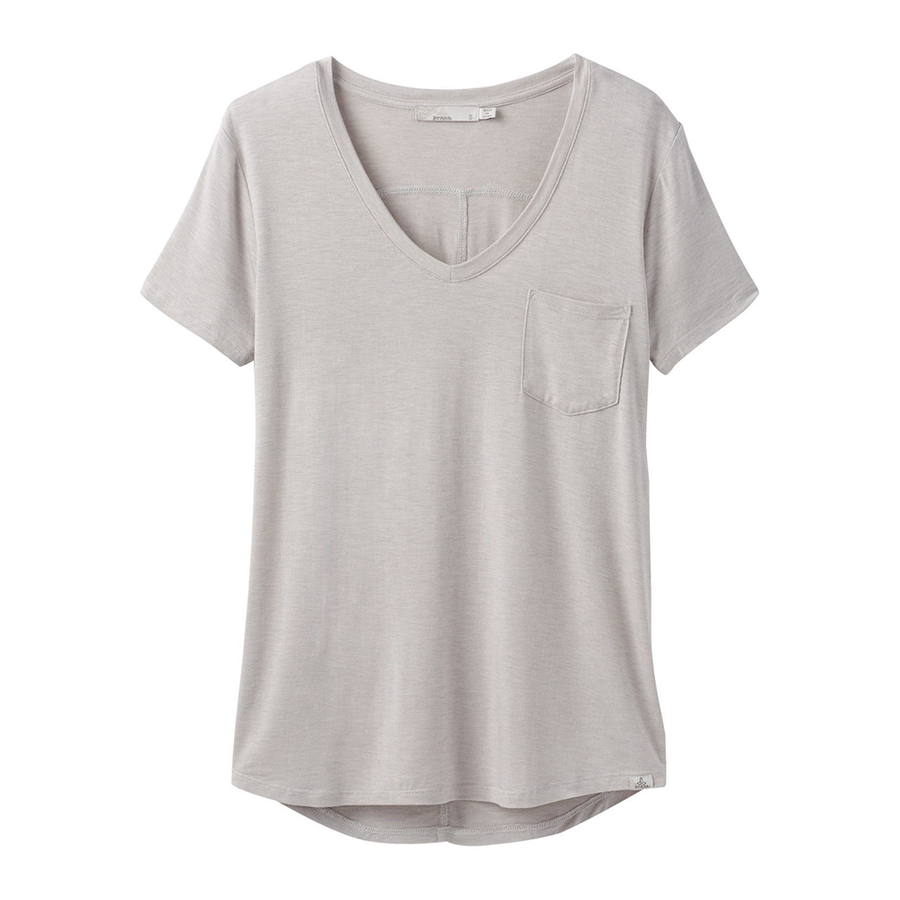PRANA FOUNDATION SHORT SLLEVE TOP - WOMEN'S