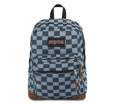 Blue Checker Denim