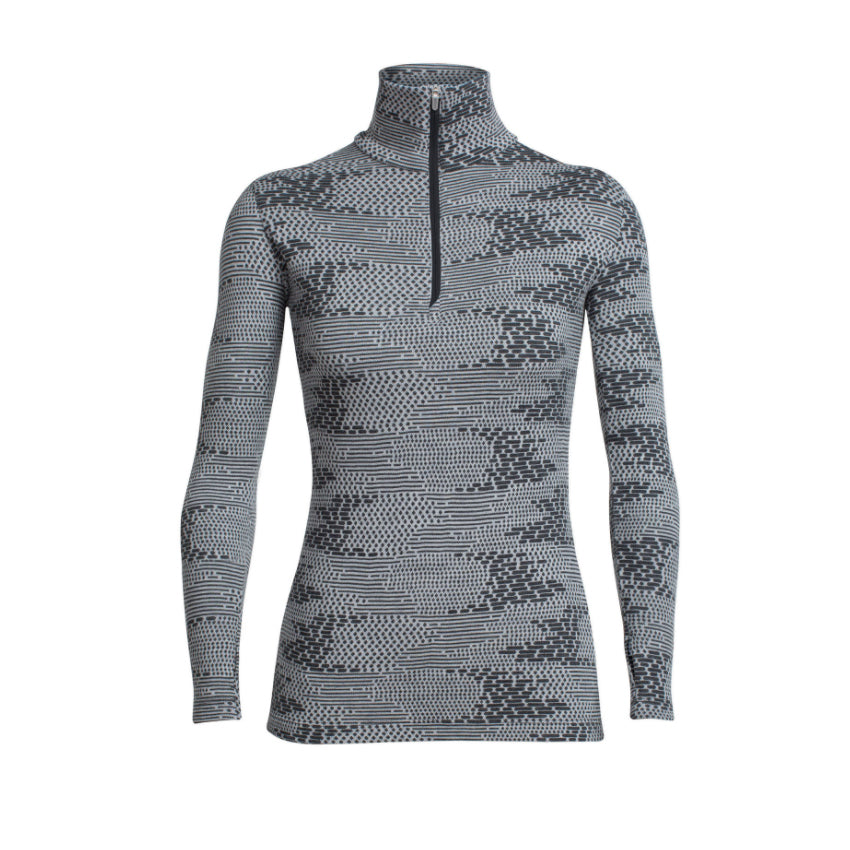 Icebreaker Vertex Long Sleeve Half Zip Flurry - Women's