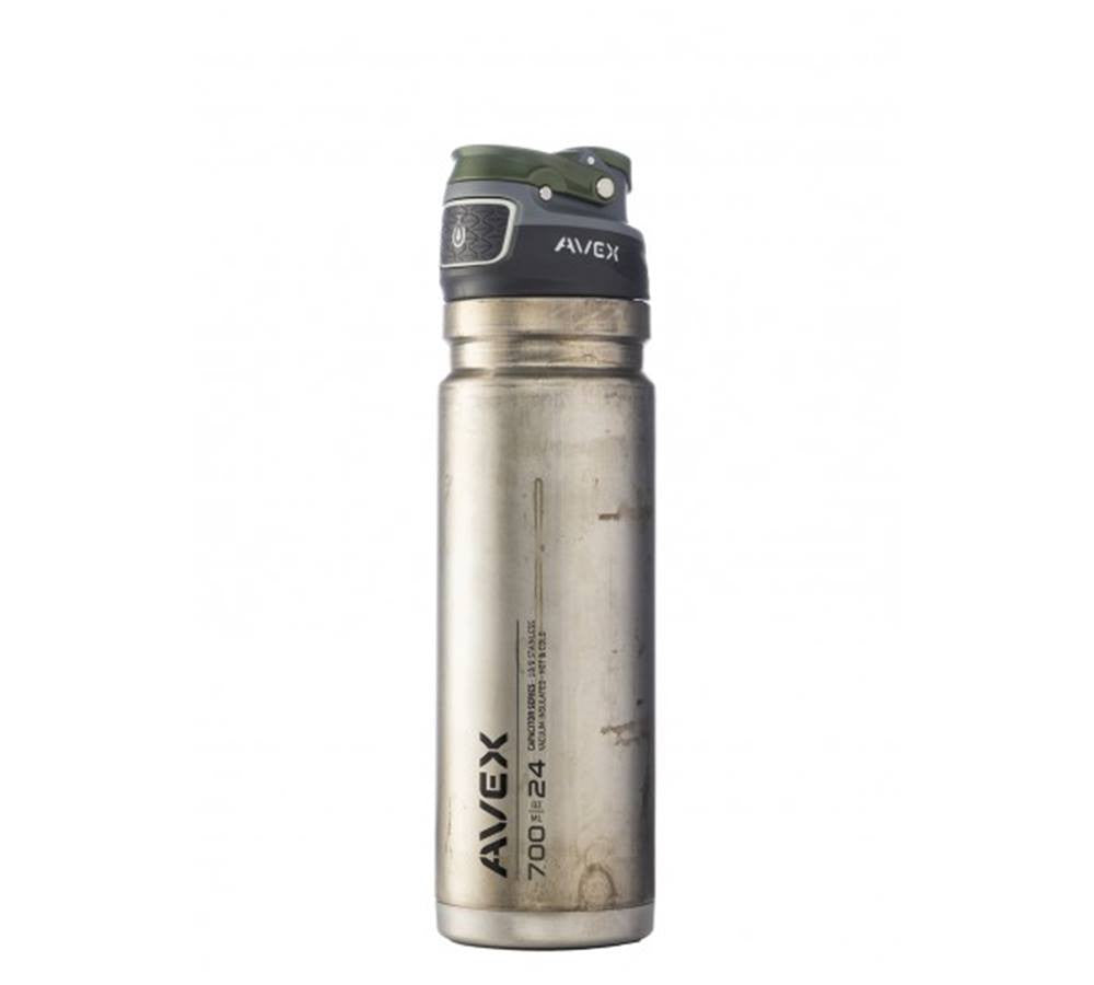 9f607febcc Stainless. Avex Freeflow Autoseal Stainless Water Bottle. Ice. Blue.  Orange. Green