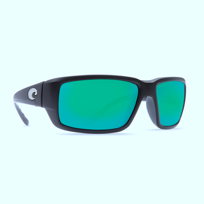 Matte Black/Green Mirror Glass W580