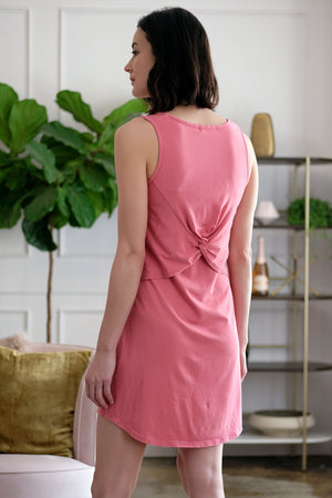Tank Dress w/ Back Twist - Mododoc