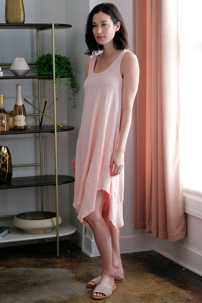 Tank Dress w/ Rib Hem - Mododoc
