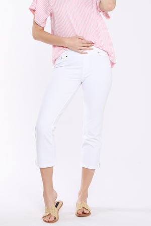 Cropped Kick Flare Pants