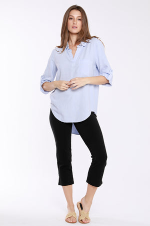 Roll Tab Patch Pocket Tunic