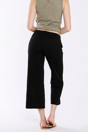 Pintuck Cropped Pants