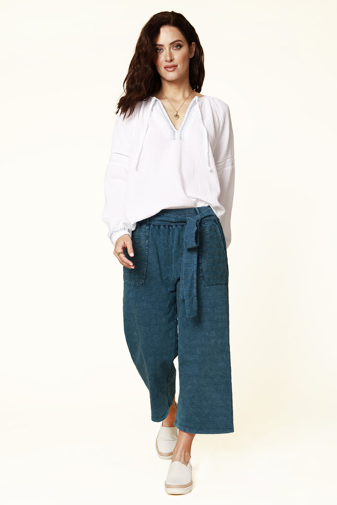 Cropped Legged Pants