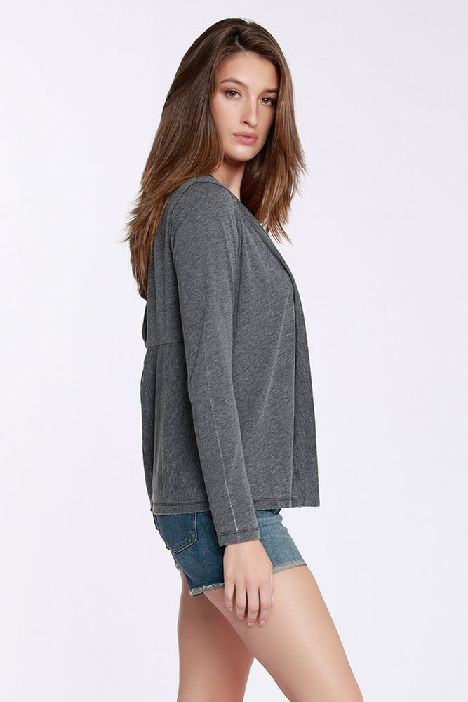 Back Twist Cardigan