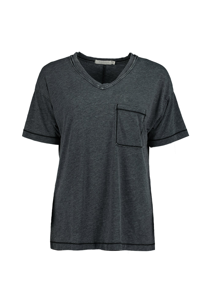 Easy Fit S/S V-Neck Pocket Tee