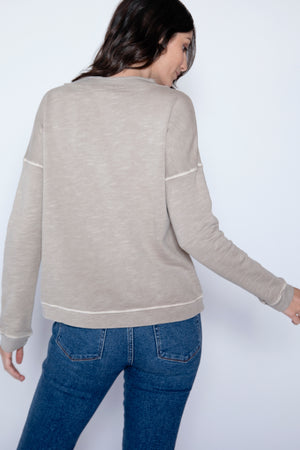Funnel Neck Sweatshirt - Mododoc