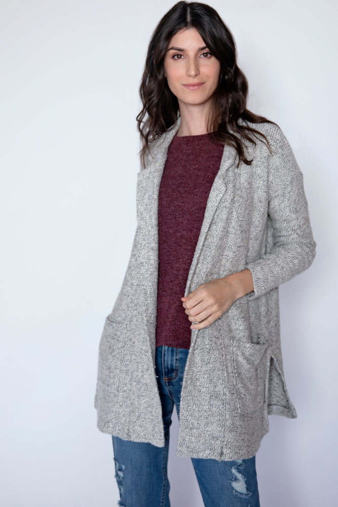 L/S Patch Pocket Cardigan