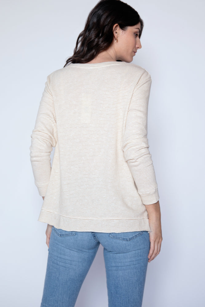 Step Hem Boxy Sweater - Mododoc