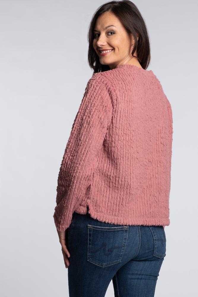 Long Sleeve Boxy Pullover