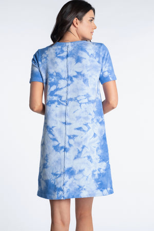 Tie Dye T-Shirt Dress - Mododoc