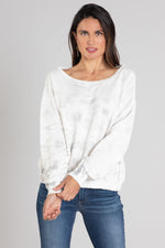 Long Sleeve Boatneck Sweatershirt