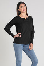 Long Sleeves Peasant Top