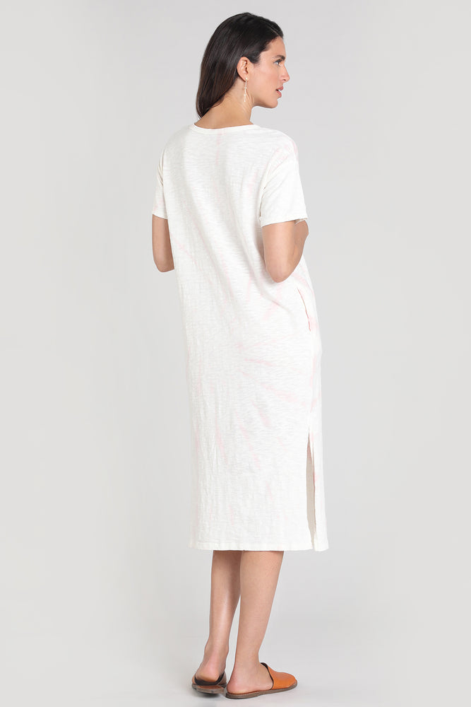 Short Sleeve Midi T-shirt Dress