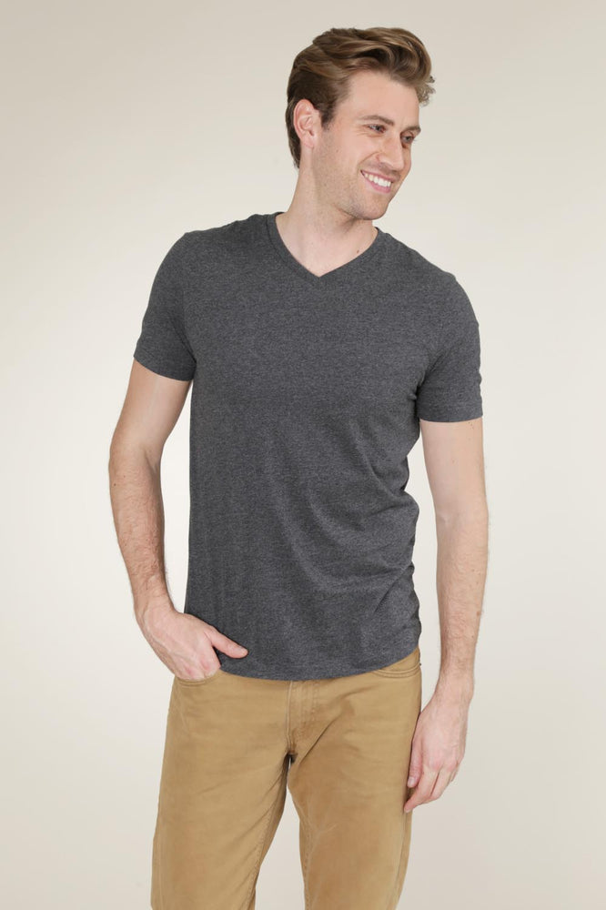 """Del Mar"" Short Sleeve V-Neck Tee"
