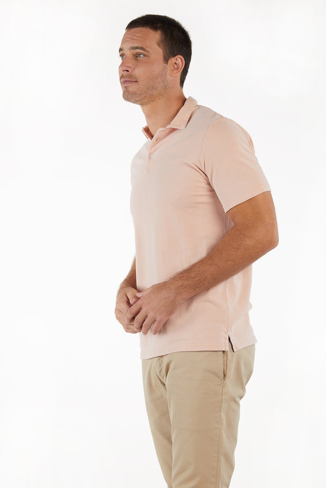 Short Sleeve 3 Button Polo