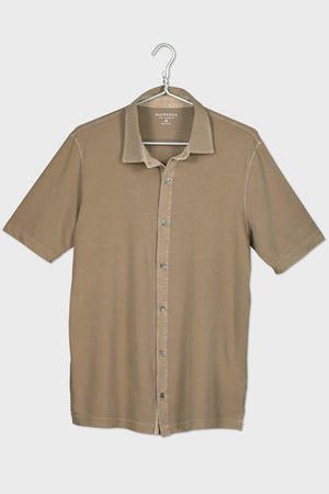 """Dana Point"" S/S Button Front Shirt - Mododoc"