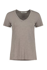 Short Sleeves V-neck Tee