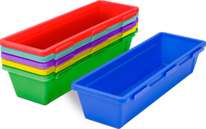 Pencil trays, Multicolor (set of 5 x 6/30 units/pack)