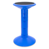 active seating stool blue
