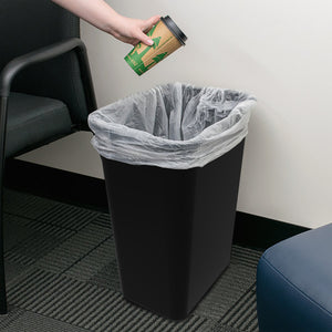 WasteBaskets, Large (4 units/pack) Black
