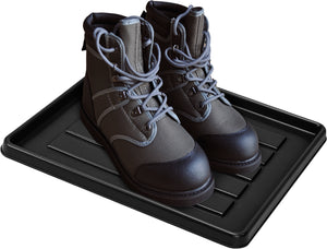 No Mess Boot Tray, Black (18 units/pack)