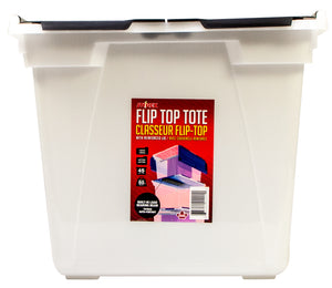 Flip Top Storage Tub