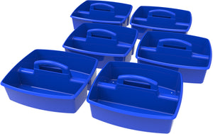 Large Caddy, Blue (6 units/ pack) - Storex