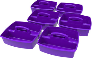 Large Caddy, Purple (6 units/pack) - Storex