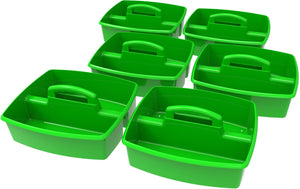 Large Caddy, Green (6 units/ pack) - Storex