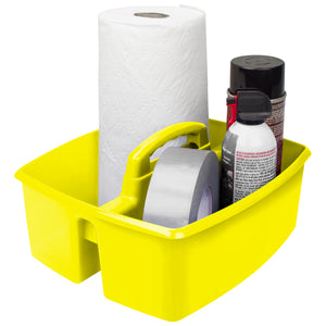 Large Caddy, Yellow (6 units/pack) - Storex