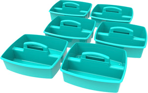 Large Caddy, Teal (6 units/ pack) - Storex