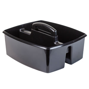 Storex Large Caddy Black 6-Pack Single