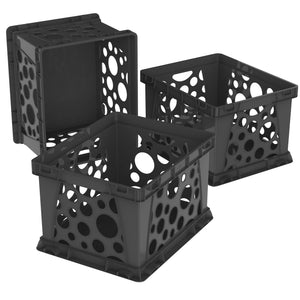 Premium File Crate, Black (3 units/pack)