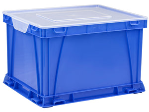 Storage and Filing Cube, Blue (3 units/pack) - Storex