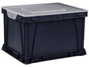 Storage and Filing Cube, Black (3 units/ pack) - Storex