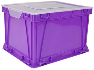 Storage and Filing Cube, Purple (3 units/pack) - Storex