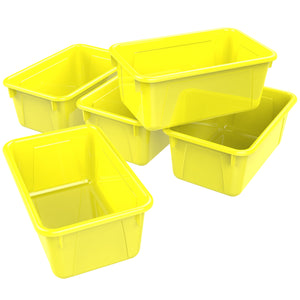 Small Cubby Bin ,Yellow (5 units/pack)
