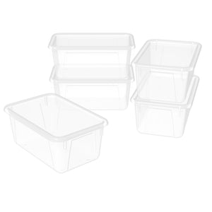 Small Cubby Bin ,Translucent (5 units/pack) - Storex